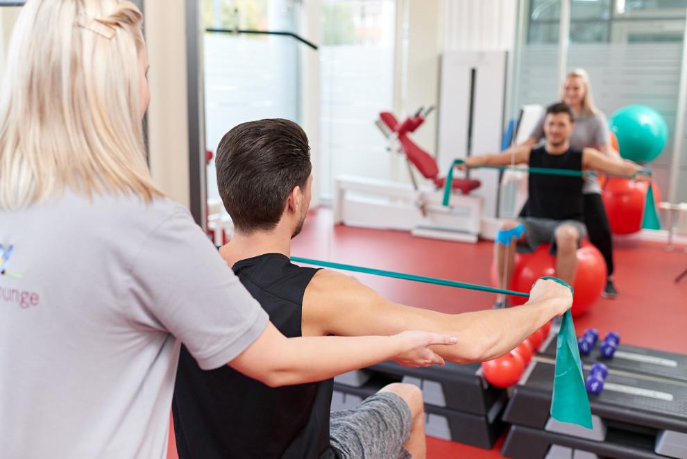 Trainingsraum der Physio-Lounge