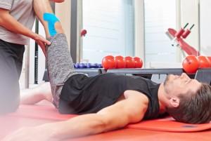 Behandlung in der Physio-Lounge